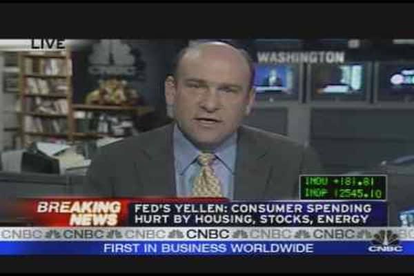 Fed's Yellen on Economy