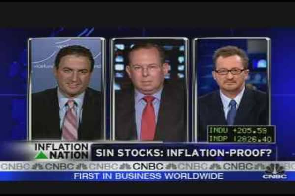 Sin Stocks Inflation-Proof?