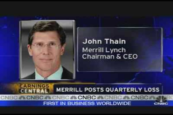 Wall Street's Mood on Merrill