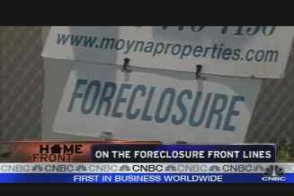 Realty Check: Foreclosure Front