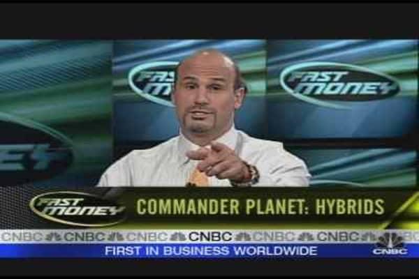Commander Planet: Hybrids