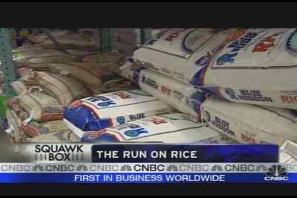 Rice Shortage