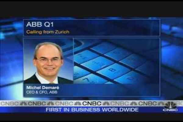 ABB CEO: 'We're in a Sweet Spot'