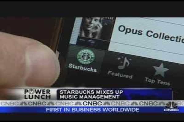 Starbucks Shakeup