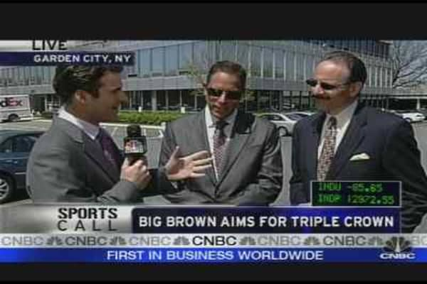 Big Brown's Big Win