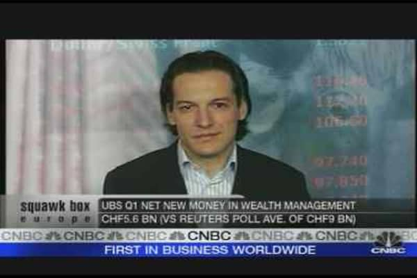 UBS Down on Job Cuts