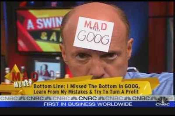 Missing Google's Bottom