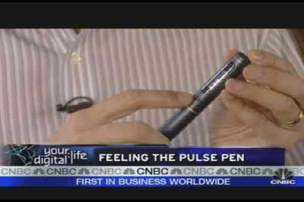 Feeling the Pulse of the Pen