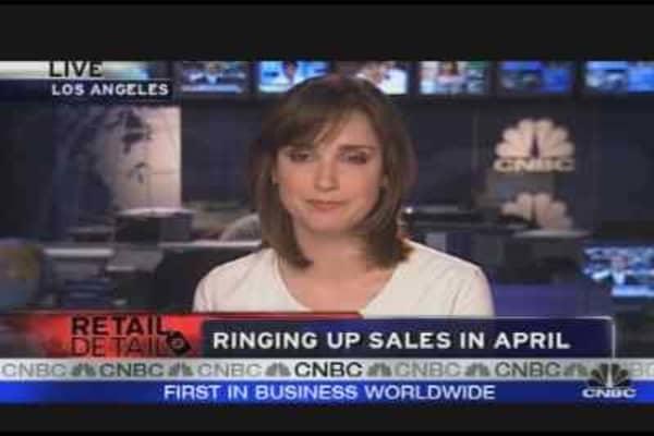 Ringing Up Sales in April