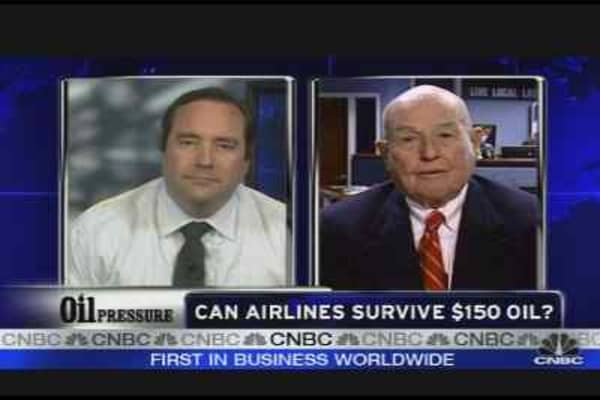Can Airlines Survive Oil?