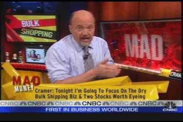Cramer Eyes Shipping