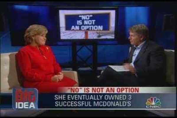 No Is Not an Option: Cordia Harrington