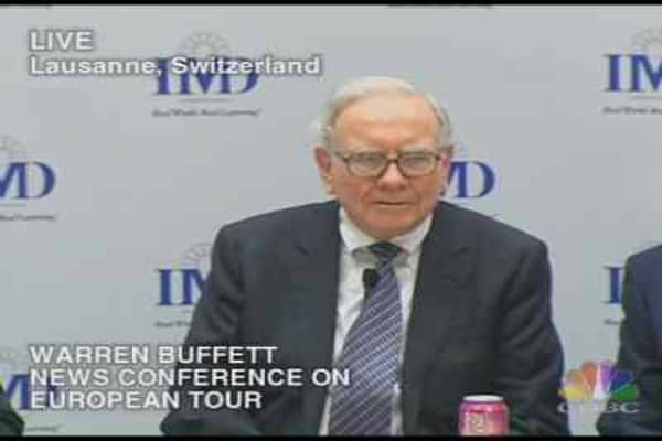 Warren Buffett Euro Tour 2