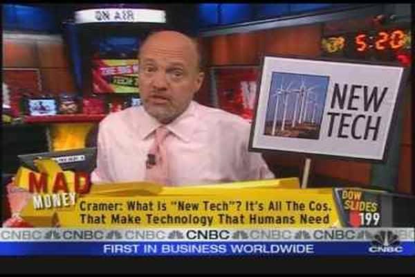 Cramer's New Tech Ten