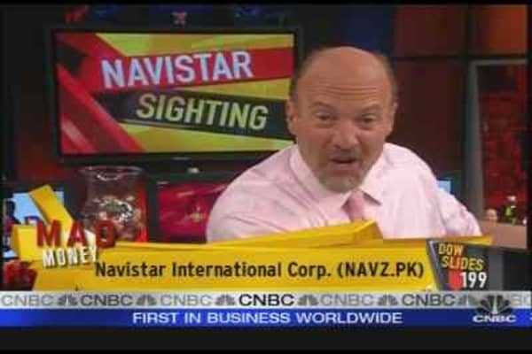 Cramer's Navistar Sighting