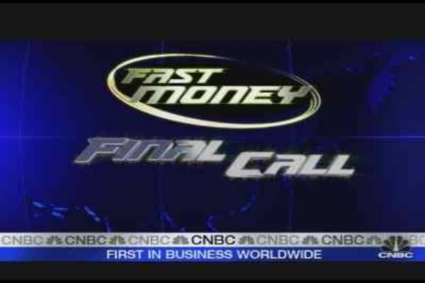 Fast Money Final Call: Oil