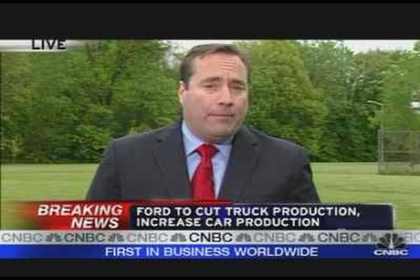 Ford Cuts It's Outlook