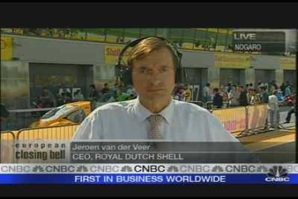 Shell CEO on Oil Rally