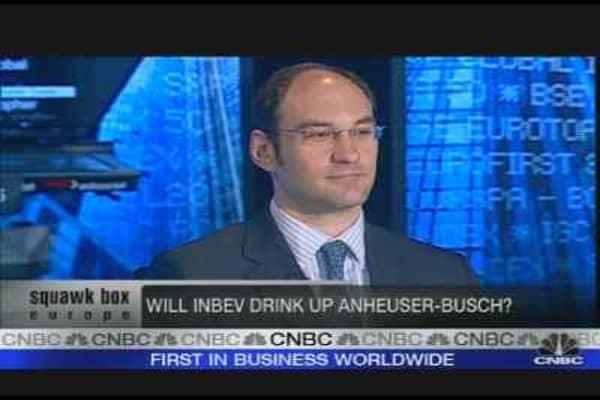 Will InBev Swallow Up Anheuser?