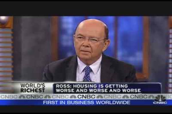 Wilbur Ross on the Economy