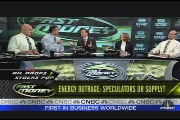 Energy Outrage: Speculators