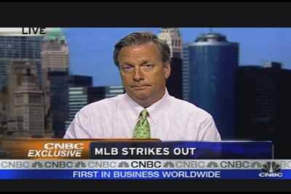 MLB Strikes Out