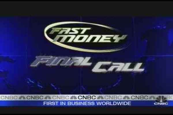 Fast Money Final Call: Oil