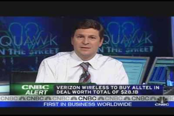 Verizon to Buy Alltel