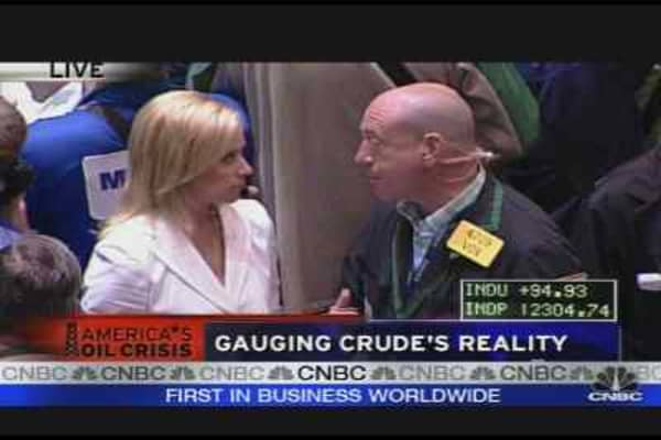 Gauging Crude's Reality