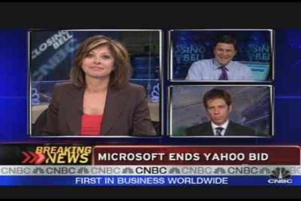 Microsoft Ends Yahoo Bid