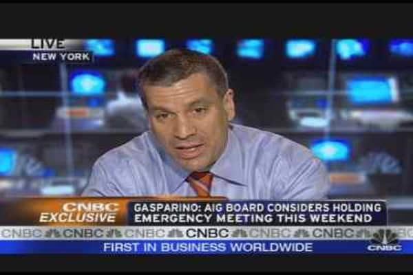 AIG CEO on Thin Ice?
