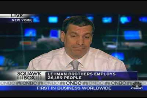 Rumblings at Lehman Brothers