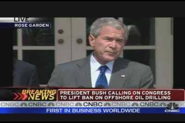 President Bush on Offshore Drilling