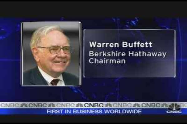 Five for Buffett