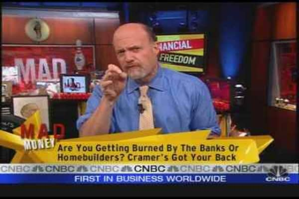 Cramer On Financial Woes
