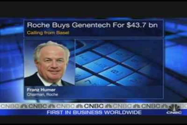 Roche Offers $43.7 Billion for Genentech