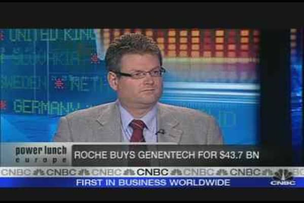 Roche's Offer a 'Good Deal'