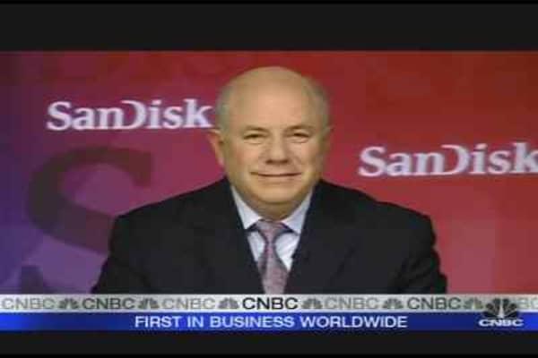 SanDisk CEO on Earnings