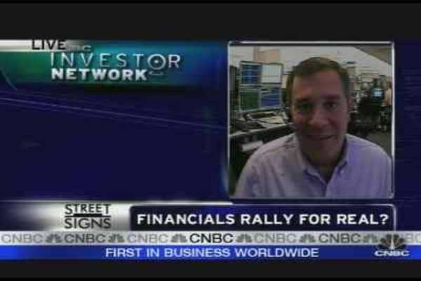Financials & the Market