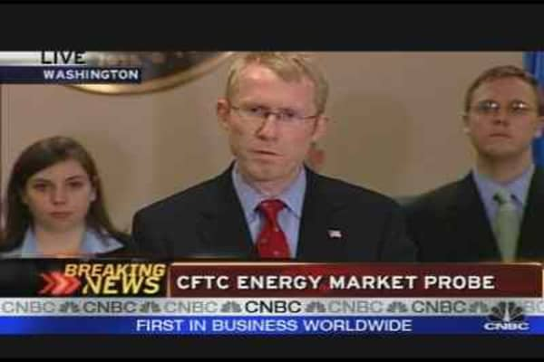 CFTC Energy Market Probe
