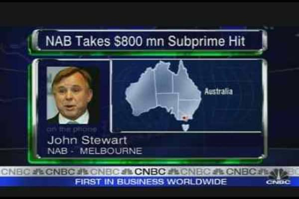 NAB Takes $830 mn Subprime Hit