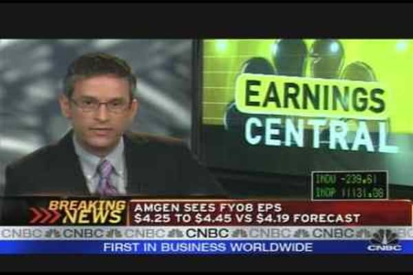 Amgen Earnings Analysis