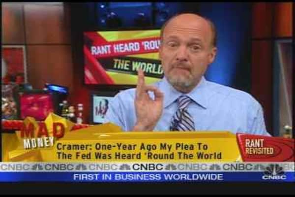 Cramer's Fed Rant