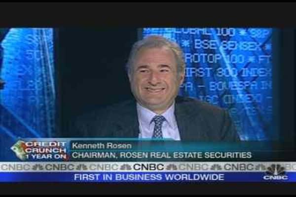 Recession Has Just Begun: Rosen