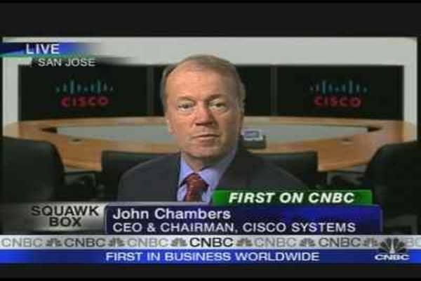 Cisco Beats the Street