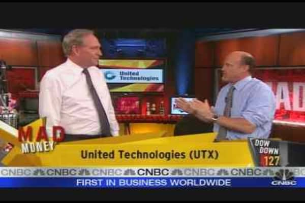 UTX Chairman On Earnings