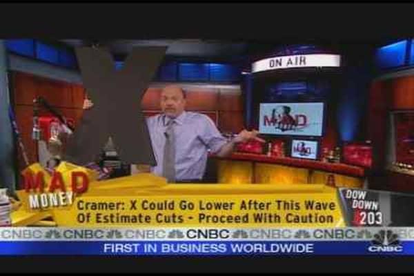 Cramer on U.S. Steel