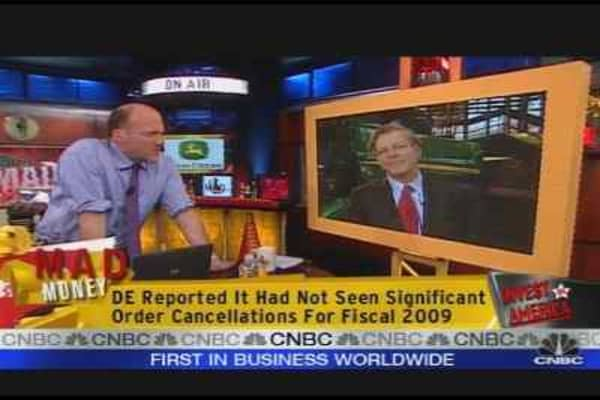 Cramer: Obama Victory = Deere Victory