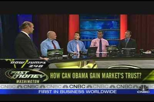Gaining Market's Trust