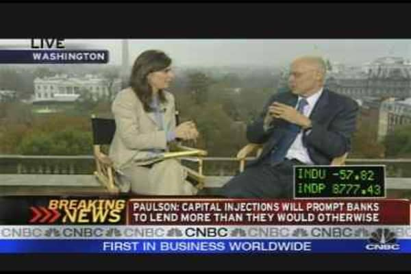 Paulson on Banks, TARP & More